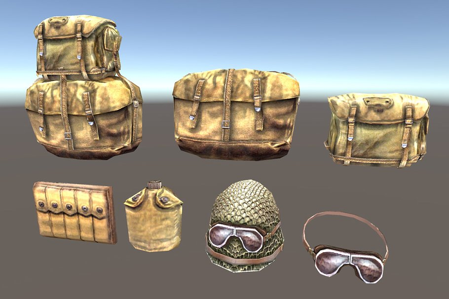 Soldier Accessories in People - product preview 1