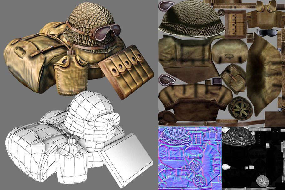 Soldier Accessories in People - product preview 2