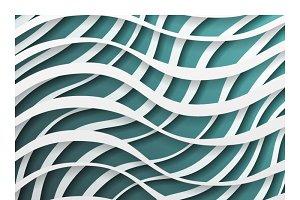 Paper waves 3d
