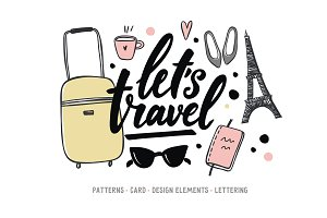 Let's travel card, Love Paris