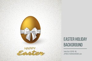 Easter holiday background.