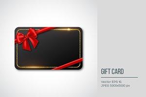 Gift card design.