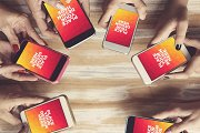 Apple iPhone Display Mock-up#30