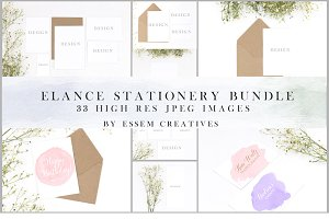 BUNDLE Wedding Invitations Mockup