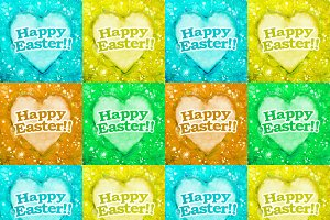 Happy Easter Theme Background