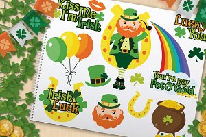 St. Patrick's Day, Lucky Irish!