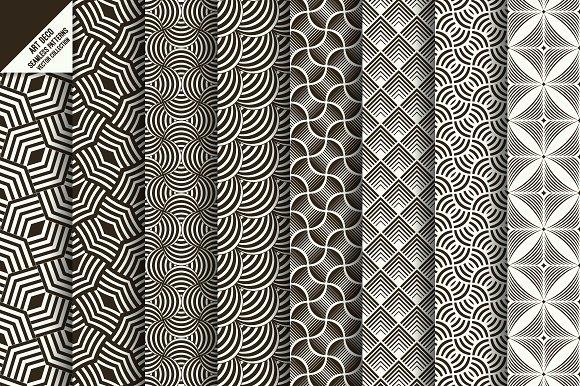 Art Deco Seamless Wallpapers