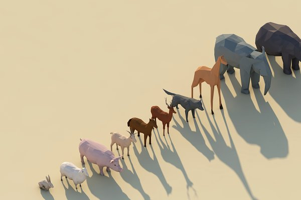 Animal: Anton Moek - Low Poly Forest Animals Pack 1