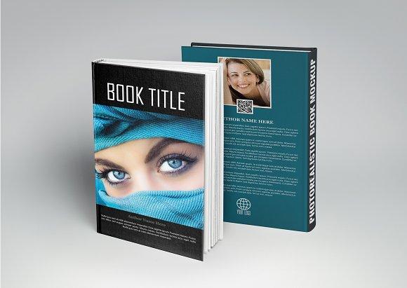 Book Cover Design PSD