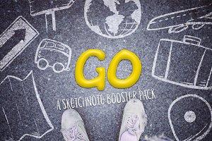 Go: Sketchnote Booster Pack