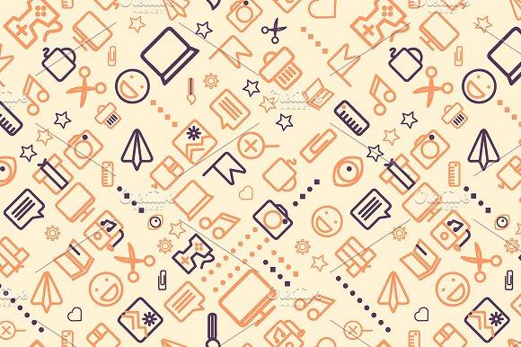 4 seamless creative background graphic patterns creative market