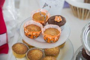 orange flavored cupcake