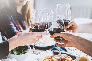 Cheers to good company!