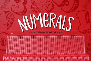 Numerals: Sketchnote Booster Pack