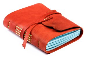 Handmade Leather Notepad