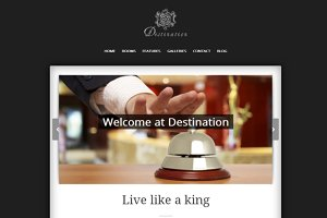 Destination - Responsive Hotel Theme
