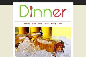 Dinner - Responsive Restaurant Theme