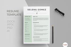 Modern CV - Coverletter Template