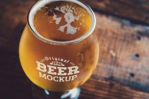 Beer Glass Mock-up#55