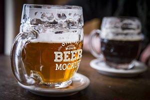 Beer Glass Mock-up#57