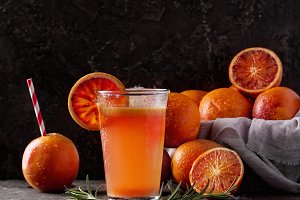 Half blood oranges