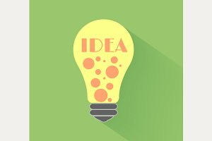 Lightbulb idea set