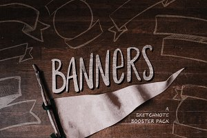 Banners: Sketchnote Booster Pack