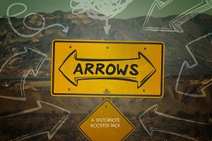Arrows: Sketchnote Booster Pack