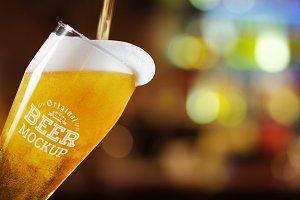 Beer Glass Mock-up#67