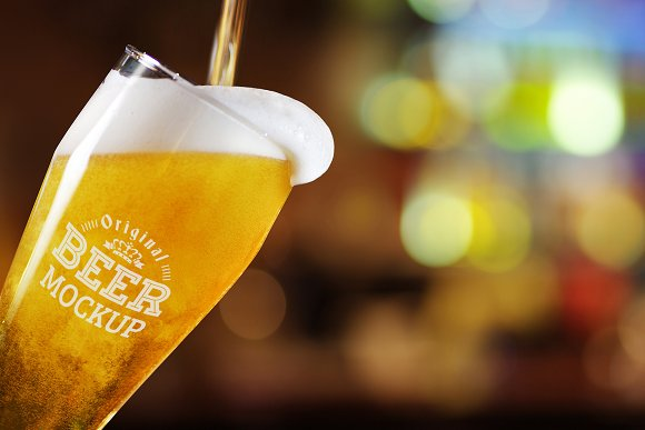 Download Beer Glass Mock-up#67