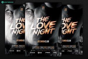 LOVE NIGHT Flyer Template