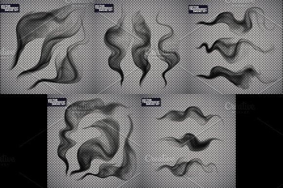 Smoke Isolated Transparent