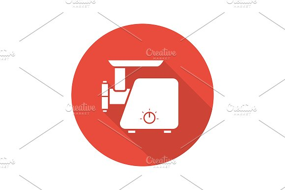 Meat Grinder Icon Vector
