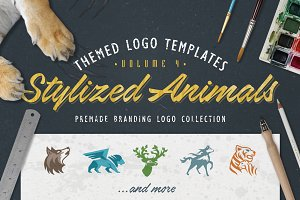Logo Bundle Vol.4 - Stylized Animals