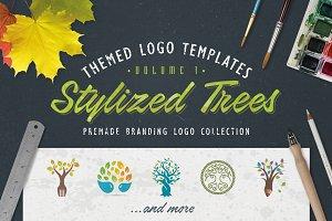 Logo Bundle Vol.1 - Stylized Trees