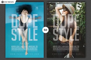 DOPE STYLE Flyer Template