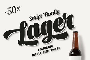 Lager -intro -50% off