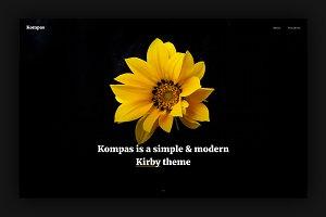 Kompas Theme - Kirby CMS