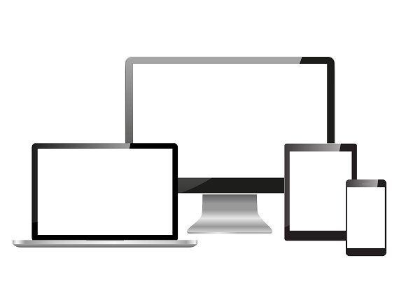 Realistic Monitors Laptop