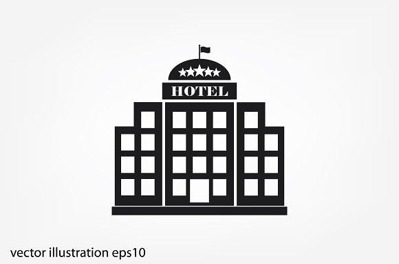 Hotel 5 Star Icon Icons Creative Market