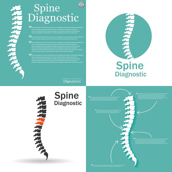 Flat Spine Icon