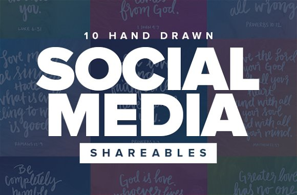 Colorful Social Media Shareables