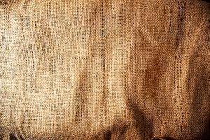 Burlap / sackcloth background