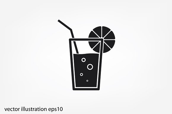 Drink Or Juice Glass Icon