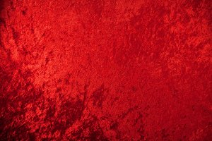 Red Crushed Velvet Background