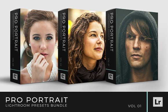 Pro Portrait Lightroom Preset Bundle