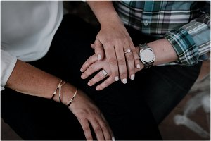 Engaged Couple | Detail