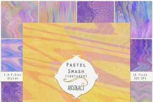 Pastel Marble Abstract Canvases