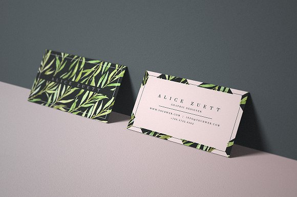 Fresh business card 105 business card templates creative market reheart Image collections