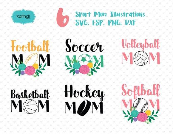 Sport Mom Svg Set